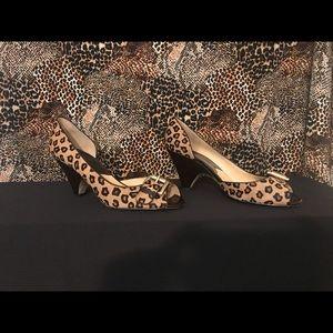 Michael Kors Leopard Wedge
